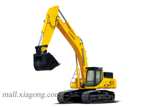 厦工XG845EL履带式挖掘机高清图 - 外观