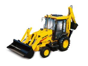厦工XG765E挖掘装载机高清图 - 外观