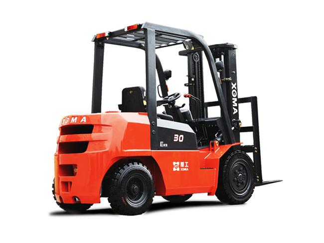 厦工XG535-DT5内燃平衡重式叉车高清图 - 外观