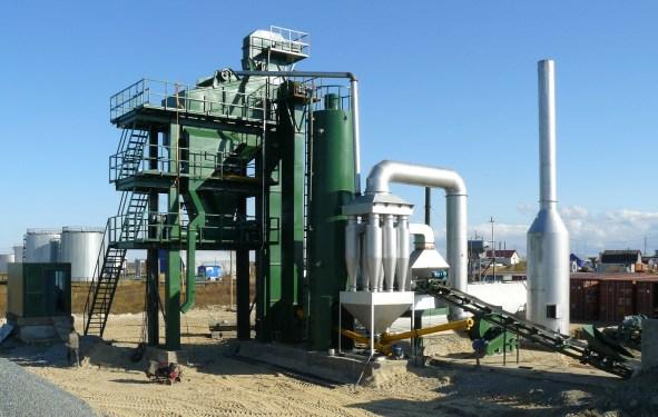 亚龙装备HXB1000沥青混合料搅拌设备