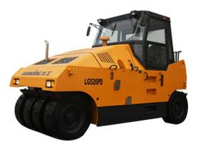 龙工LG526PD轮胎压路机高清图 - 外观