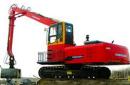永工YGSZ420履带式双动力液压抓料挖掘机高清图 - 外观