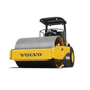 沃尔沃单钢轮压路机