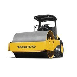 沃尔沃SD200单钢轮振动压路机