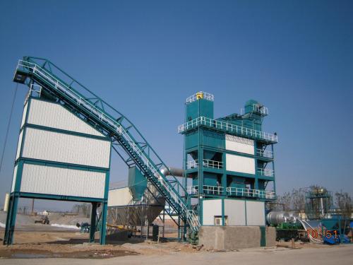 亚龙筑机LB4000沥青混合料搅拌设备