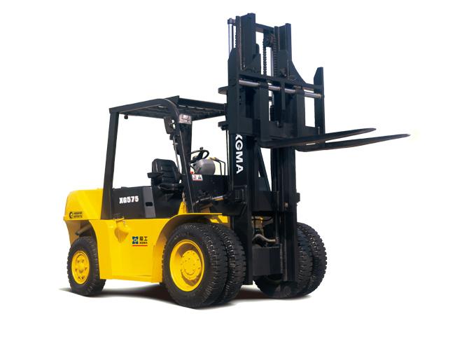 厦工XG575-DT5H内燃平衡重式叉车高清图 - 外观