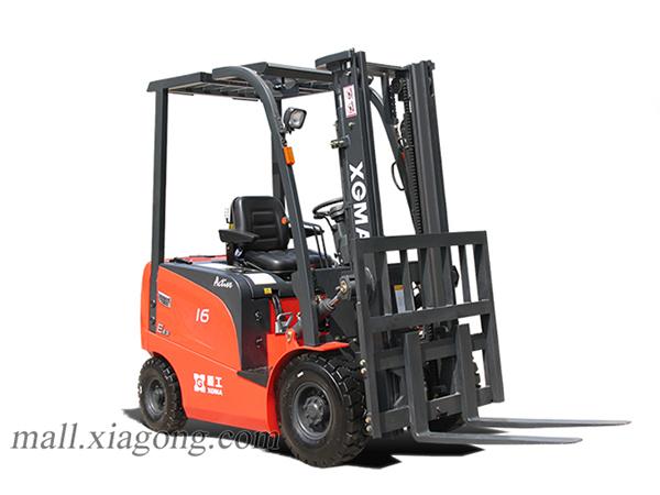 厦工XG516B-AA5电动叉车高清图 - 外观