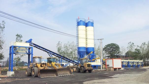 亚龙筑机WBC800稳定土厂拌设备