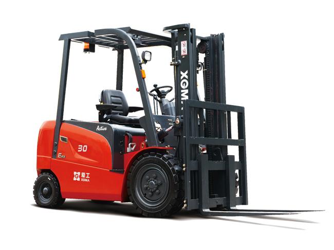 厦工XG530B-AA5电动叉车高清图 - 外观