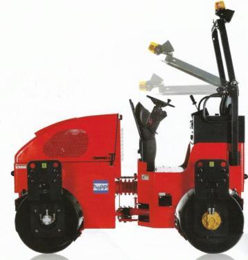 浩博DVR28骑式压路机