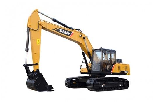 三一重工SY225C中型挖掘机
