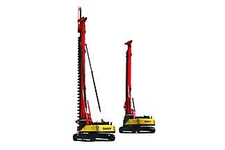 三一重工SR180M(CFA/工法)多功能钻机