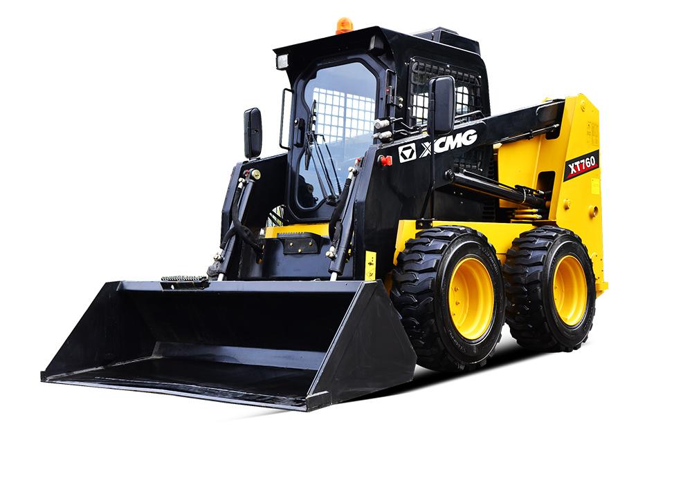 徐工XT760滑移装载机高清图 - 外观