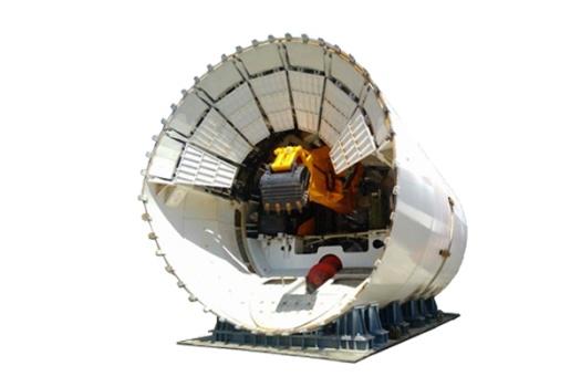 三一重工敞口式盾构机高清图 - 外观