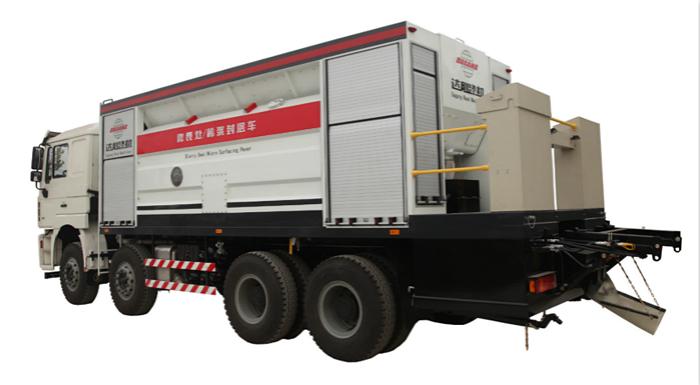 达刚路机DGL5310TFC –X125微表处稀浆封层车高清图 - 外观