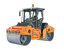 悍马HD 75K双钢轮压路机