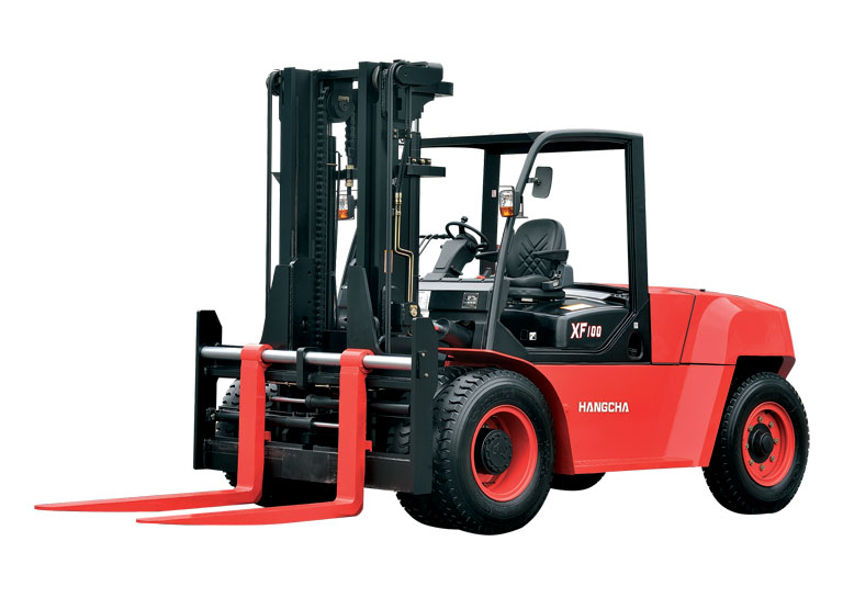 杭叉CPCD100-XW28内燃平衡重式叉车高清图 - 外观