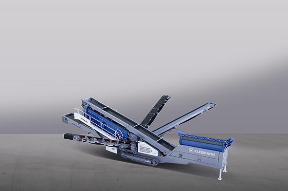 克磊镘(KLEEMANN)MS 953 EVO 移动式筛分设备高清图 - 外观