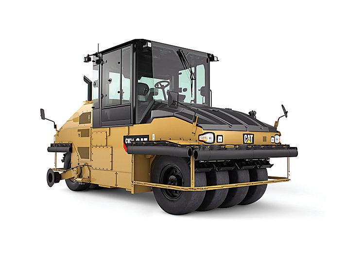 卡特彼勒CW34 充气滚轮轮胎压路机高清图 - 外观