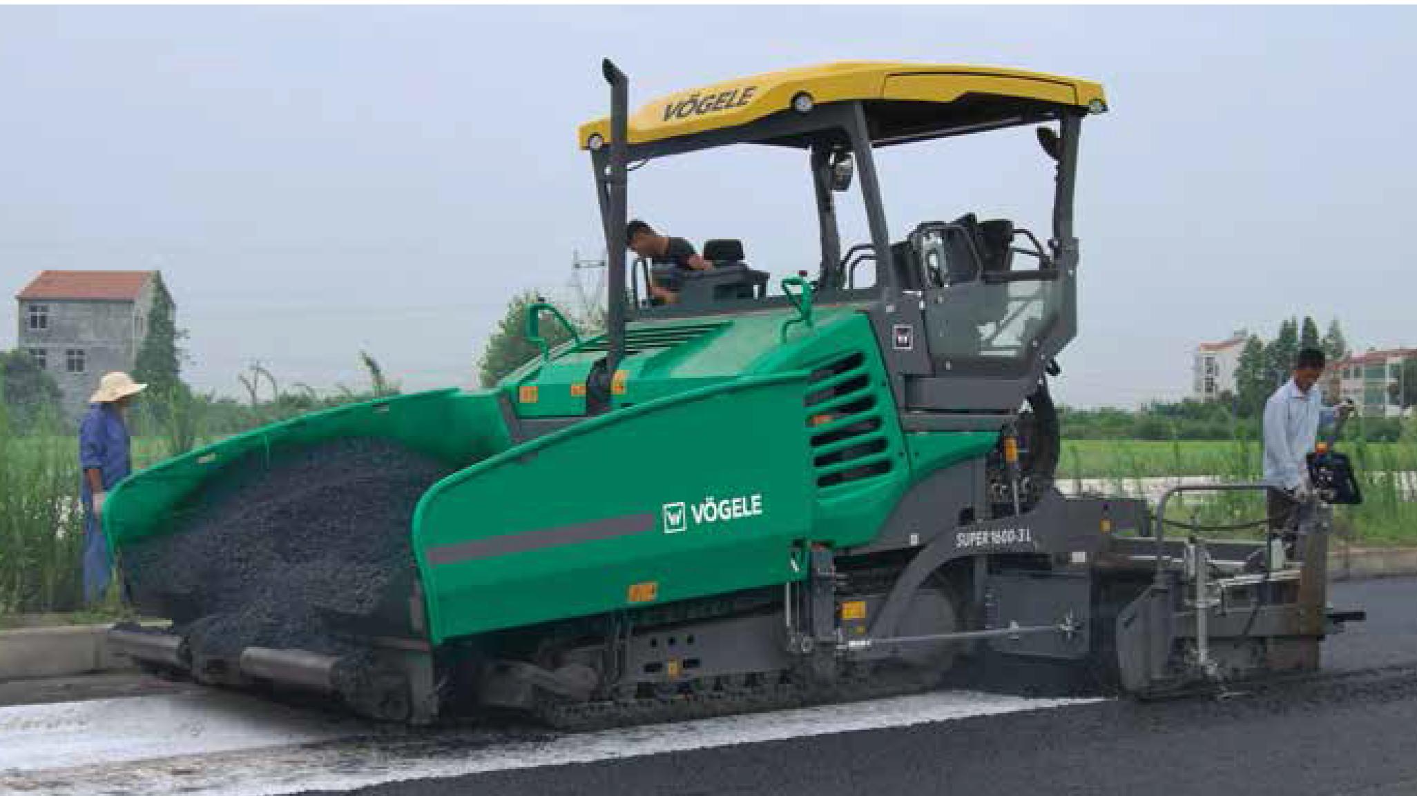 福格勒1600-3 L超级沥青摊铺机高清图 - 外观