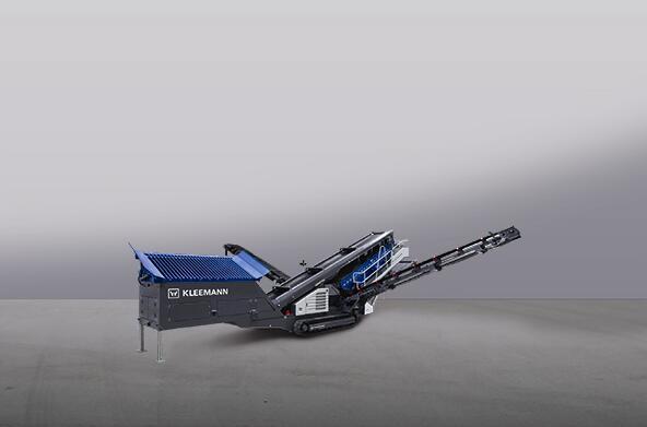 克磊镘(KLEEMANN)MS 702 EVO 移动式筛分设备高清图 - 外观