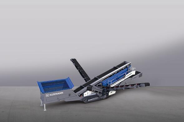 克磊镘(KLEEMANN)MS 703 EVO 移动式筛分设备高清图 - 外观