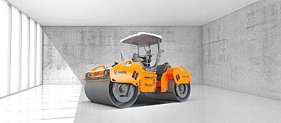 悍马HD O 138 V  双钢轮压路机