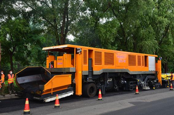 江蘇奧新RM4680瀝青路面雙層攤鋪機