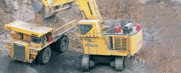 小松PC4000-6履带式液压挖掘机