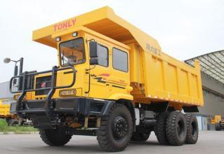同力重工TL875B非公路宽体自卸车高清图 - 外观