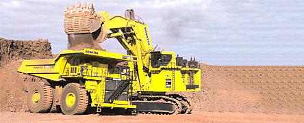 小松PC5500-6履带式液压挖掘机