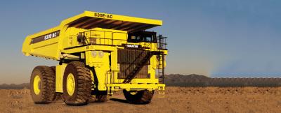 小松830E-AC矿用卡车高清图 - 外观
