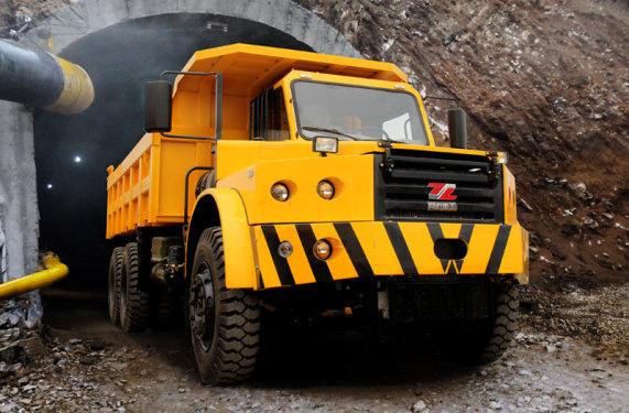 同力重工TLK320坑道用自卸车