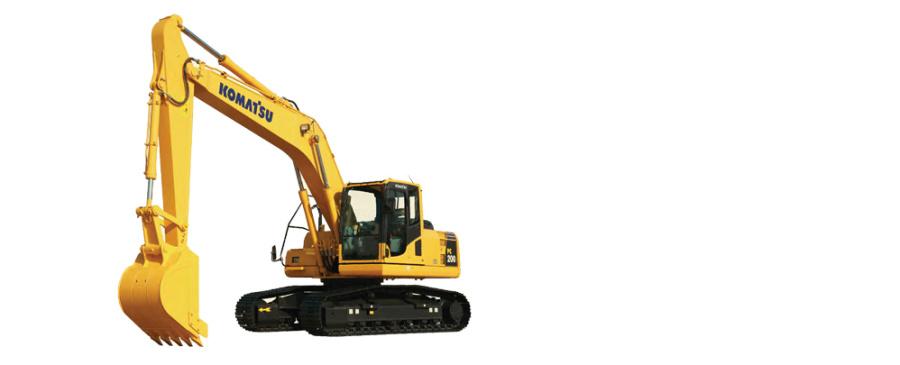 小松PC200-8履带式液压挖掘机