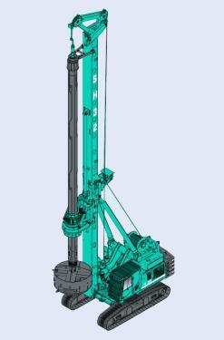 上海金泰SH32多功能钻机