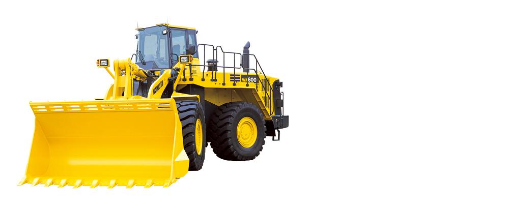小松WA600-6轮式装载机高清图 - 外观