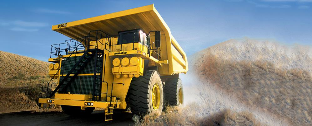 小松930E-4矿用卡车