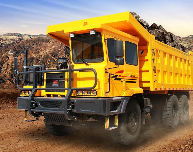 同力重工TLD110D矿用自卸车高清图 - 外观