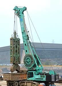 上海金泰SG70液压连续墙抓斗