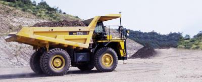 小松HD325-6非公路矿用自卸卡车高清图 - 外观