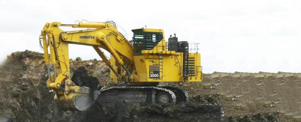 小松PC3000-6履带式液压挖掘机