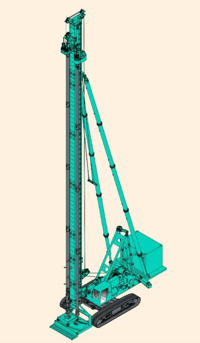 金泰长螺旋钻孔机