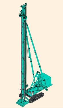 上海金泰SKJ60長螺旋鉆孔機