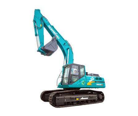 山河智能SWE235ES混合动力挖掘机