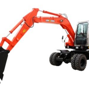 晉工JGM907LN-8輪式挖掘機