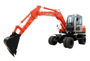 晋工JGM907LN-8轮式挖掘机