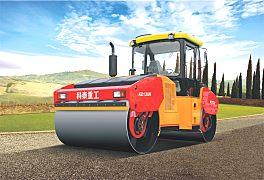 科泰重工KD136H双钢轮压路机