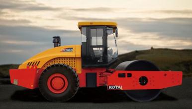 科泰重工KS265HD单钢轮压路机(双驱)高清图 - 外观
