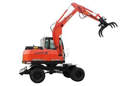 晉工JGM9075LNZ-8輪胎式多功能蔗木拾裝機