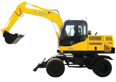 晋工JGM909LN-8轮胎式液压挖掘机